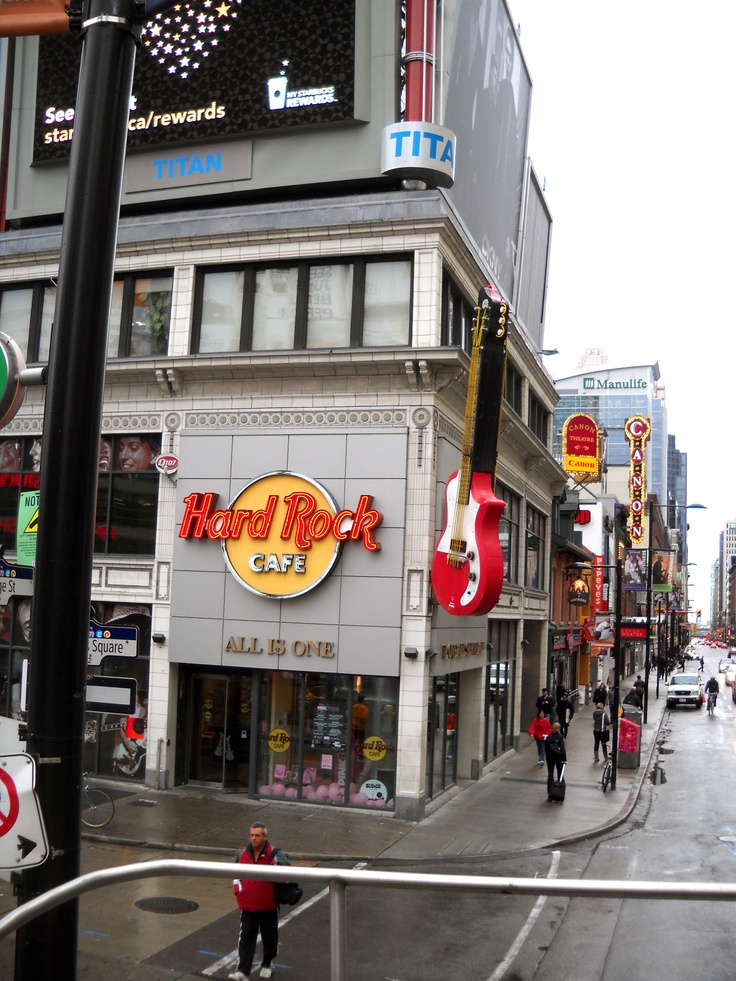 Hard Rock Cafe -- Toronto