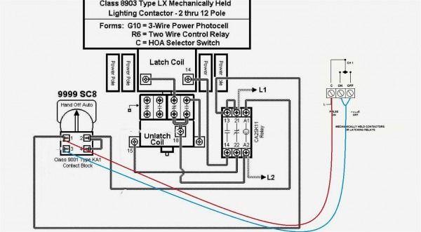 schneider electric contactor wiring diagram diagram Federal Signal Wiring Diagram