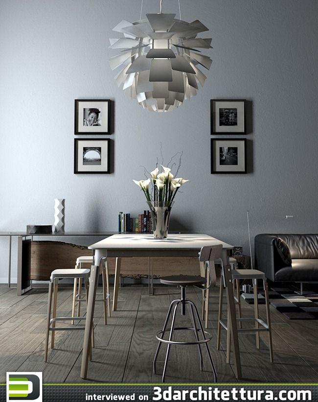 Jan K Vollmer Render 3d Interior Design 3darchitettura