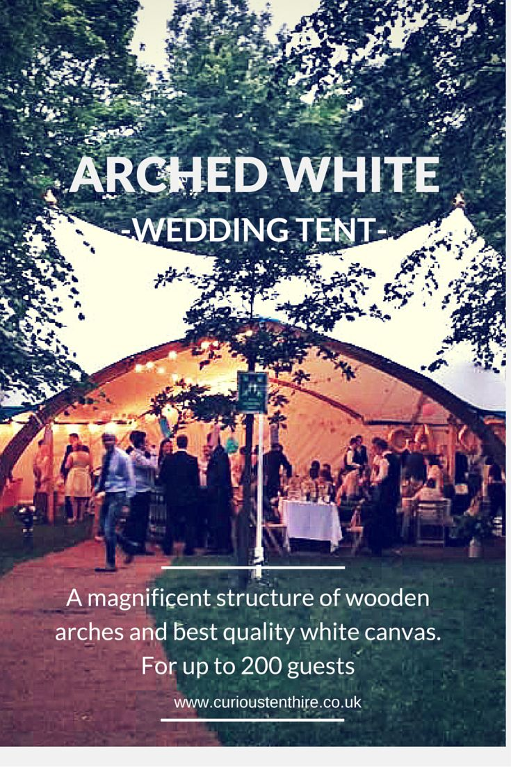 Create a wedding you'll never forget! Available for UK hire. #wedding #tent #UK