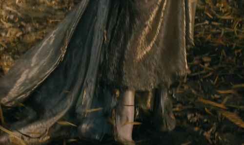 """And hair as yellow as corn — like that on the head of Rapunzel (MacKenzie Mauzy). And a slipper as pure as gold — like the one adorning the foot of Cinderella (Anna Kendrick).   The New """"Into The Woods"""" Trailer Finally Features Singing"""
