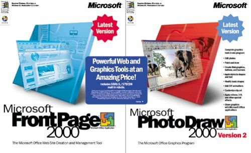 Microsoft FrontPage 2000 with PhotoDraw 2.0 [Old Version]  http://www.bestcheapsoftware.com/microsoft-frontpage-2000-with-photodraw-2-0-old-version/