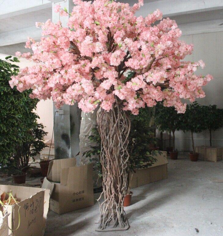 Pin By Thaysa Pryscilla On Dani S Wedding Artificial Cherry Blossom Tree Blossom Tree Wedding Blossom Trees