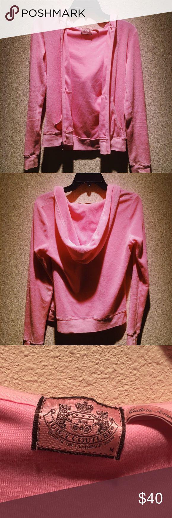 Juicy couture jacket Barely worn pink juicy couture jacket in size medium Juicy Couture Jackets & Coats
