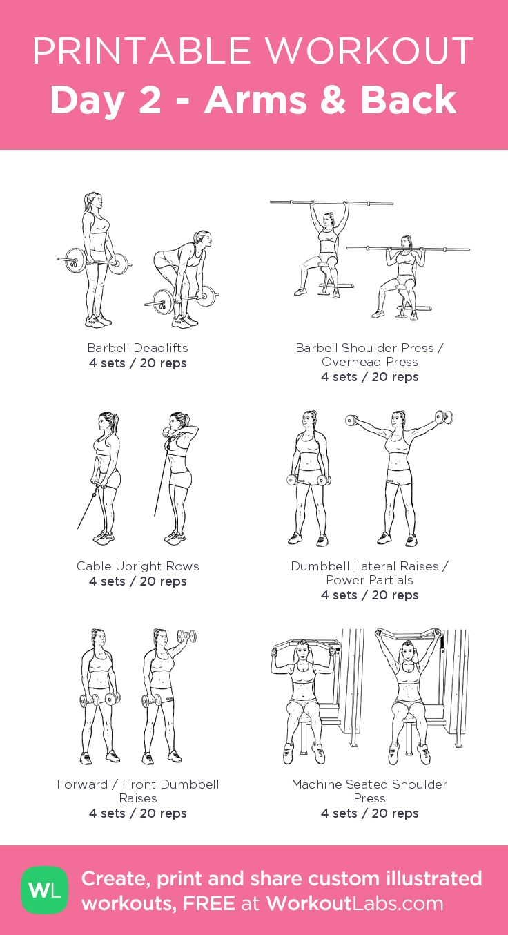 Illustrated Exercise Plan Created At