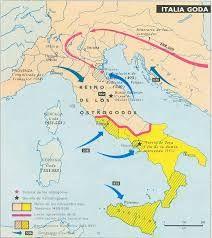 38 – Los ostrogodos que habitaban las tierras del norte del mar Negro