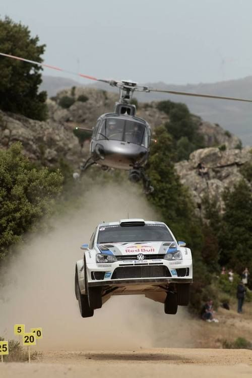 Volkswagen Polo R WRC rally car - ready for Finland!