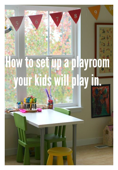 How to update playroom for older kids.