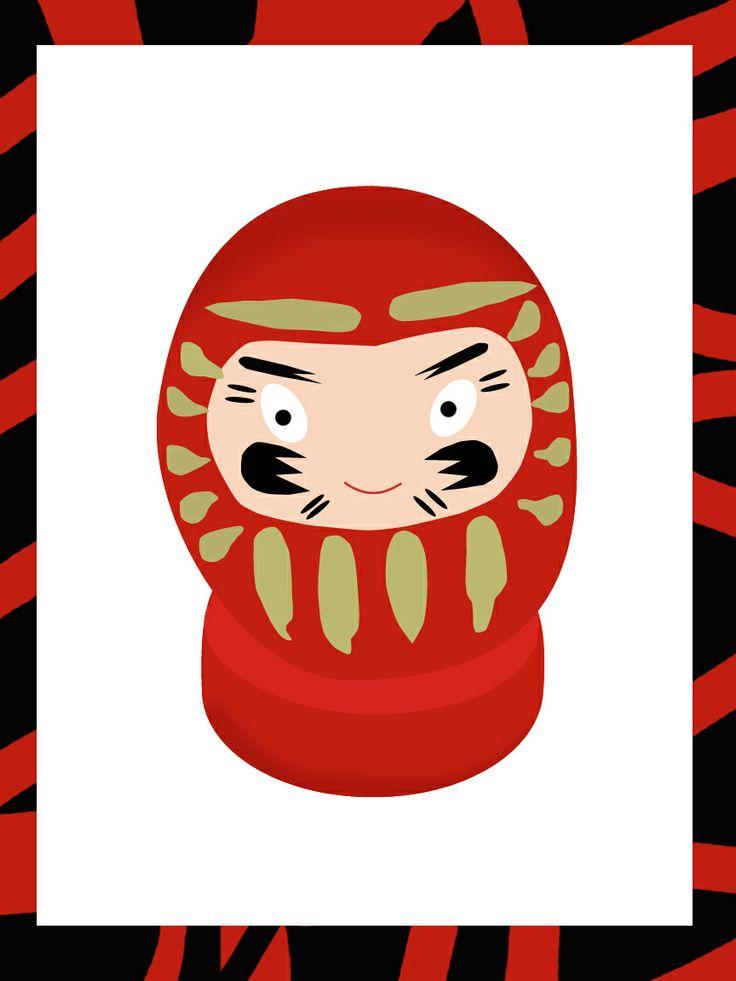 Daruma #doll #Japan