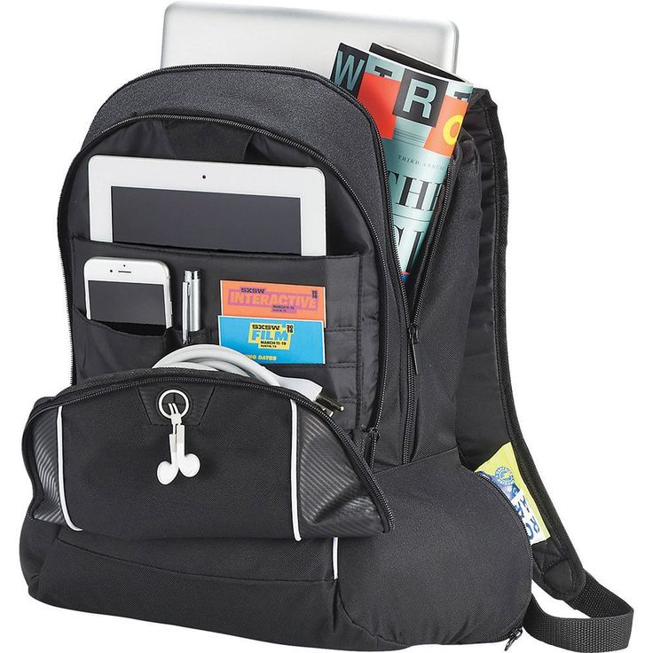 stack tech computer backpack