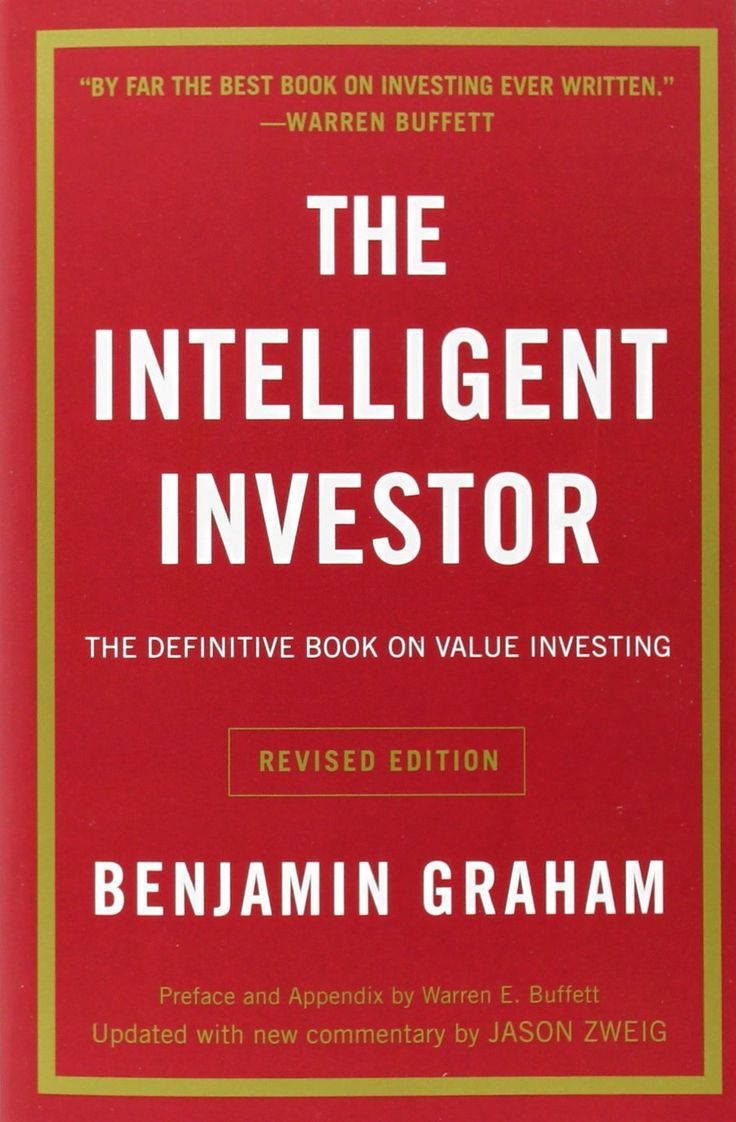 The Intelligent Investor: The Definitive Book on Value Investing. A Book of Practical Counsel (Revised Edition): Benjamin Graham, Jason Zweig: The hallmark of Graham's philosophy is not profit maximization but loss minimization... #Books #Business #Finance #Investing