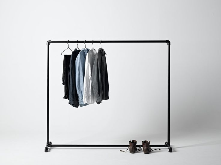 Best 25 commercial clothing racks ideas on pinterest - Designer clothes rack ...