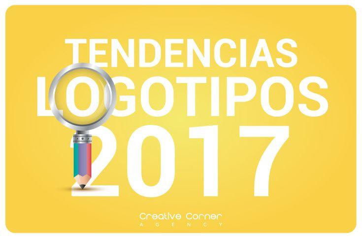 Tendencias en logotipos 2017. Haz click y conoce los tipos de logos que estarán de moda este año!