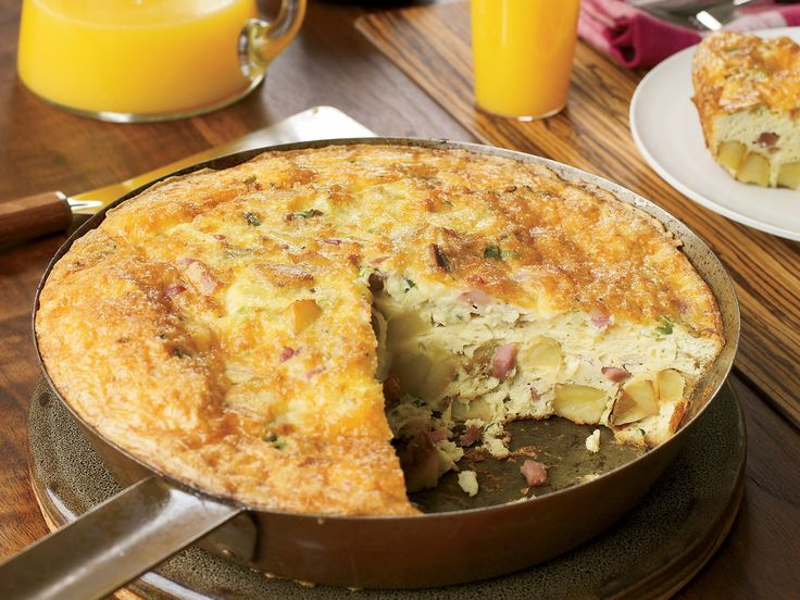 Potato Frittata with Prosciutto and Gruyère | Food & Wine goes way beyond mere eating and drinking. We're on a mission to find the most exciting places, new experiences, emerging trends and sensations.