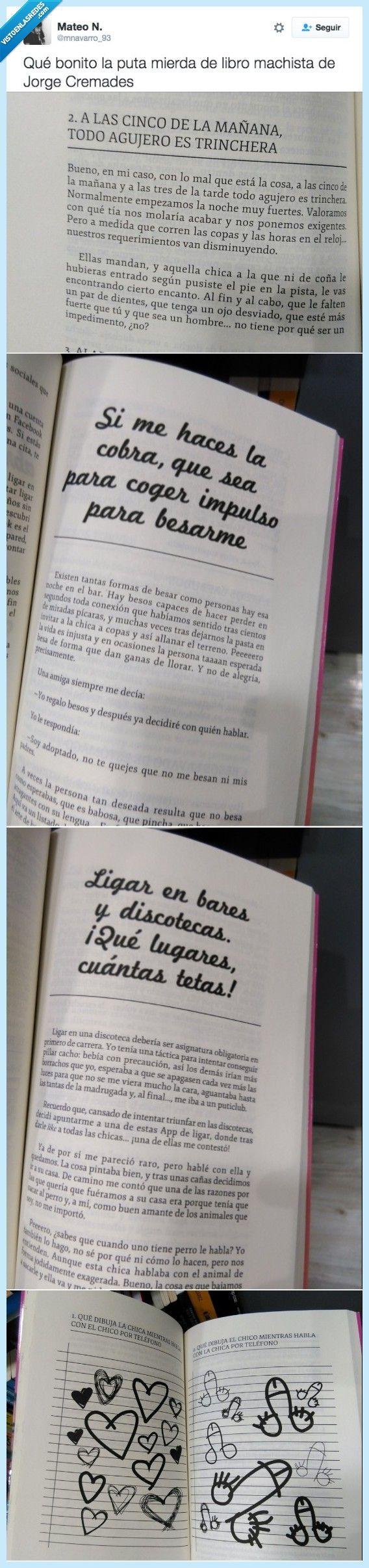 """Jorge Cremades, el nuevo premio Nobel de literatura con su libro """"Caca, pedo pis""""   Gracias a http://www.vistoenlasredes.com/   Si quieres leer la noticia completa visita: http://www.estoy-aburrido.com/jorge-cremades-el-nuevo-premio-nobel-de-literatura-con-su-libro-caca-pedo-pis/"""
