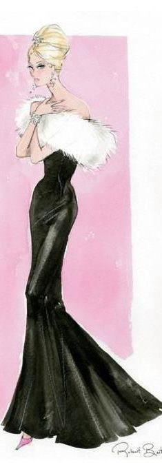 Fashion Illustration by Robert Best