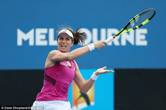 Jo Konta followed up her win over Venus Williams with a 6-2, 6-3 victory against Zheng Saisai at the Australian Open.