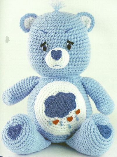 I WANT A GRUMPY BEAR! The Vintage Toy Chest: Crochet Patterns - scroll down for the Care Bears.