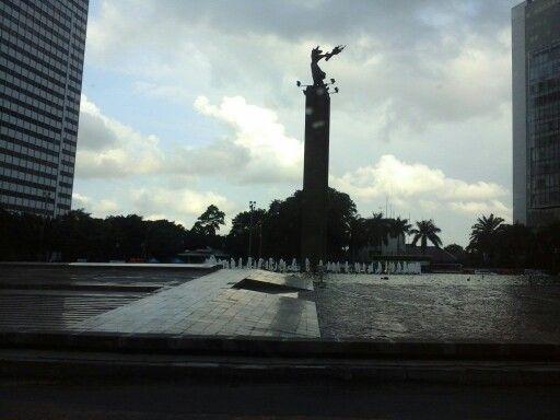 Bunderan HI - Jakarta Indonesia