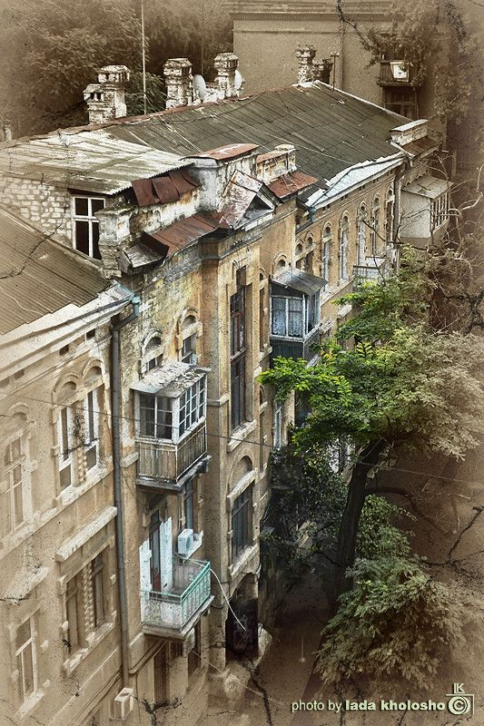 Old building in Odessa