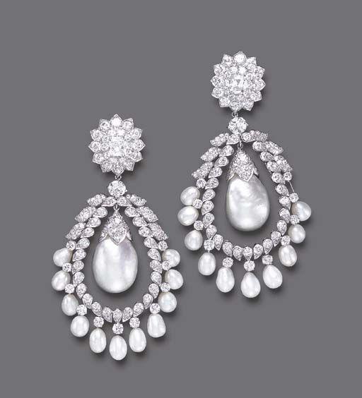 Doris Duke jewels #pearls #diamonds