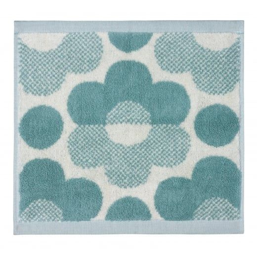 Orla Kiely House Sunset Floral Towels - Duck Egg