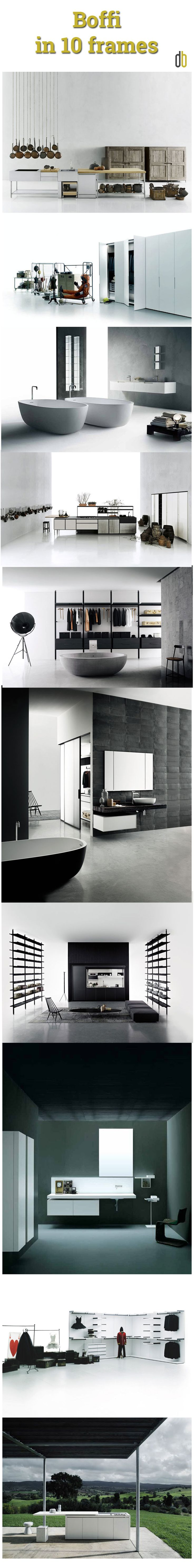 BRANDS: @boffispa  in 10 frames | Boffi started production in 1934 and since the beginning, it has built a reputation for innovative thinking and top quality design. | Learn More on Designbest Magazine --> http://magazine.designbest.com/en/design-culture/brands/boffi-kitchens-and-bathrooms/