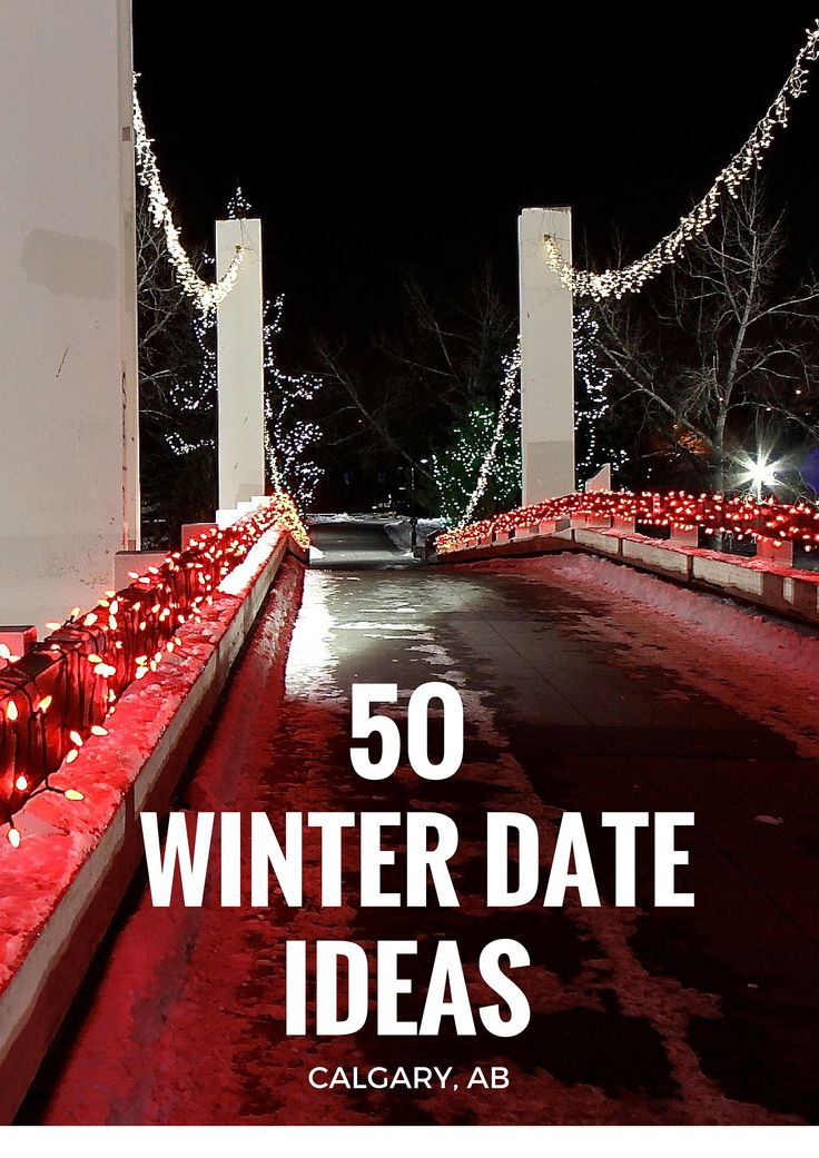 Plenty of things to do in my hometown of Calgary, AB this winter. Go out, stay…