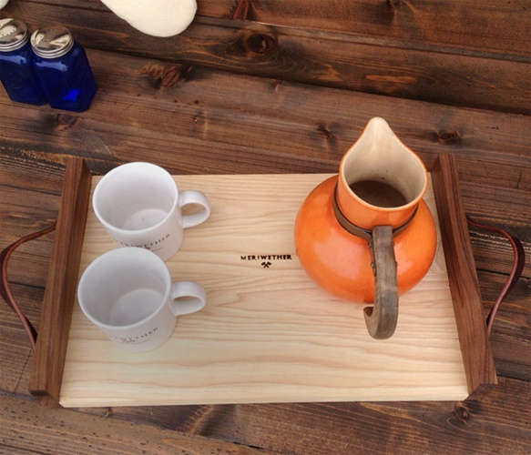 Meriwether Wooden Serving Tray