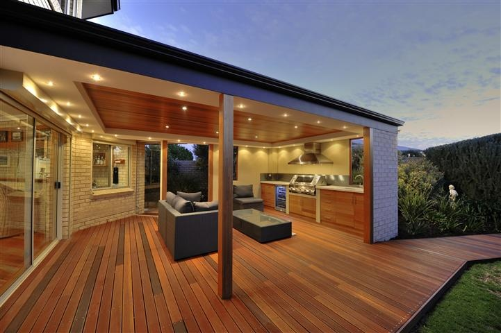 This Alfresco Space Is Transformed Using Beautiful Batu Decking Decking In Perth And WA From