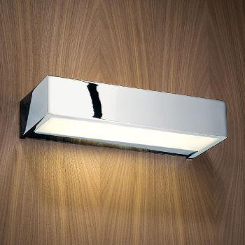 Box 25 LED Wall Lamp  【nickel/satin polished/25x10cm/LED included】【 € 286,00*】【W 25cm X H 5cm X D 10cm】【1.3kg】【1x LED-Unit --/3.5W - energy efficency grade A - included 1x LED-Unit --/7W - energy efficency grade A - included】