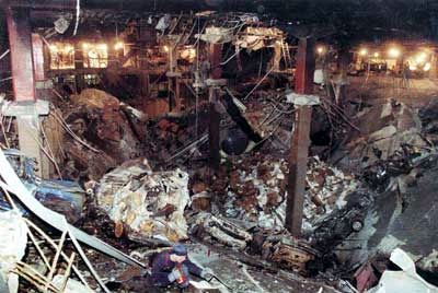 February 26, 1993 - World Trade Center North Tower. Khalid Sheikh Mohammed confessed and is STILL waiting trail....in NYC