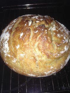 Verdens beste brød (ligner på Andreas Viestad sitt jerngrytebrød)