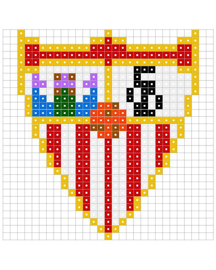 sevilla football club escudo perler beads - Recherche Google