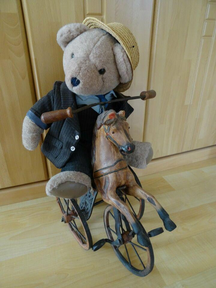 1 Holz Pferd Dreirad Antik Mit Teddybar Dekoration In Nordrhein Westfalen Leverkusen Ebay Kleinanzeigen In 2020 Mit Bildern Dreirad Antik Rad