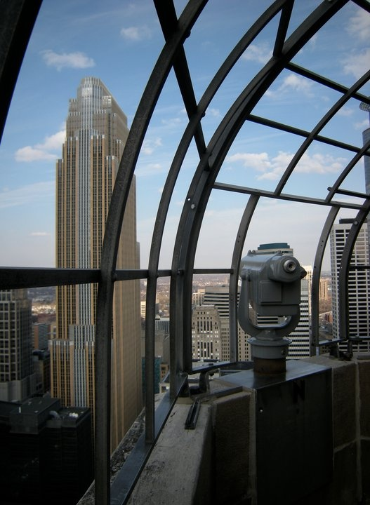 Foshay Tower Observation Deck atop the W Minneapolis #jetsettercurator
