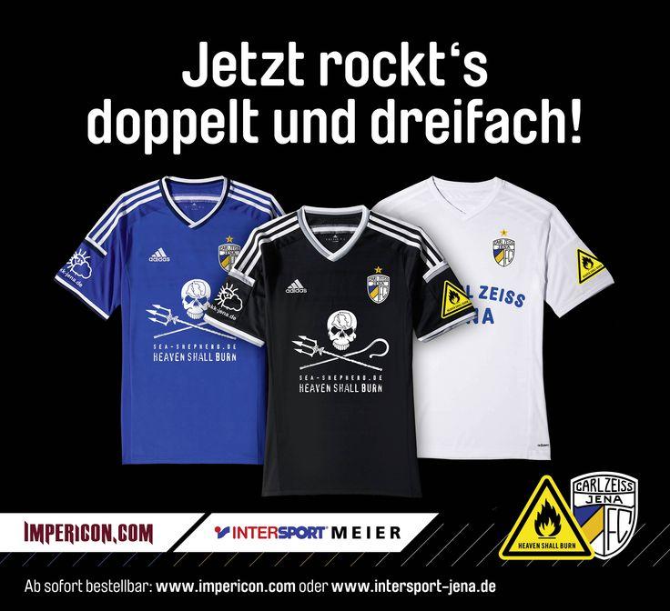 Heaven Shall Burn Sponsor FC Carl Zeiss Jena Trikot - Sea Shepherd