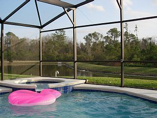 Family Villa With Private Screened Pool - South-facing for Sun All Day Long!!Holiday Rental in Davenport Lakes from @HomeAwayUK #holiday #rental #travel #homeaway