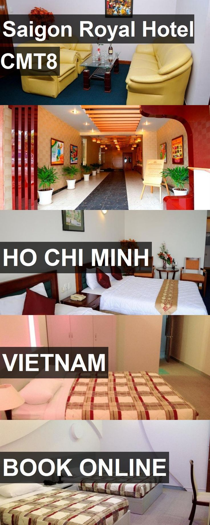 Hotel Saigon Royal Hotel CMT8 in Ho Chi Minh, Vietnam. For more information, photos, reviews and best prices please follow the link. #Vietnam #HoChiMinh #SaigonRoyalHotelCMT8 #hotel #travel #vacation