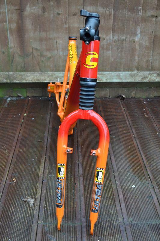 #2000 Cannondale Super V 1000 full suspension retro mountain bike frame Like, Repin, Share, Follow Me! Thanks!