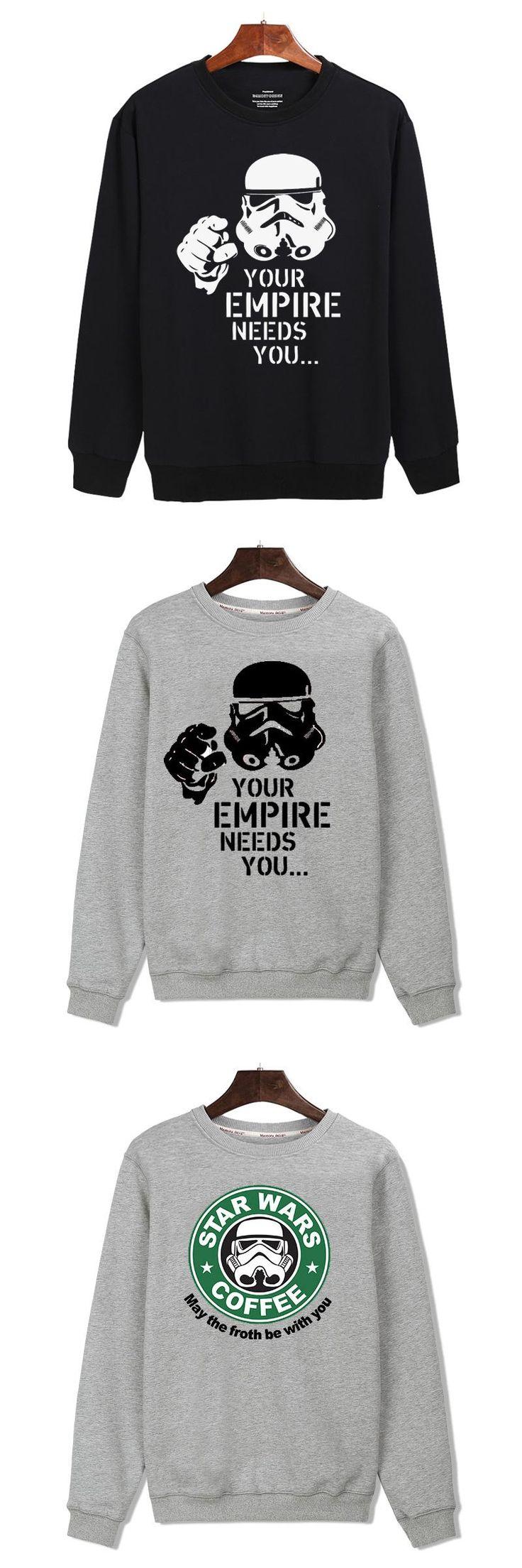 Star Wars Capless sweatshirt men hoodies fashion hoodie mens hip hop Clothes Fashion Black thick winter hoodie men High Quality