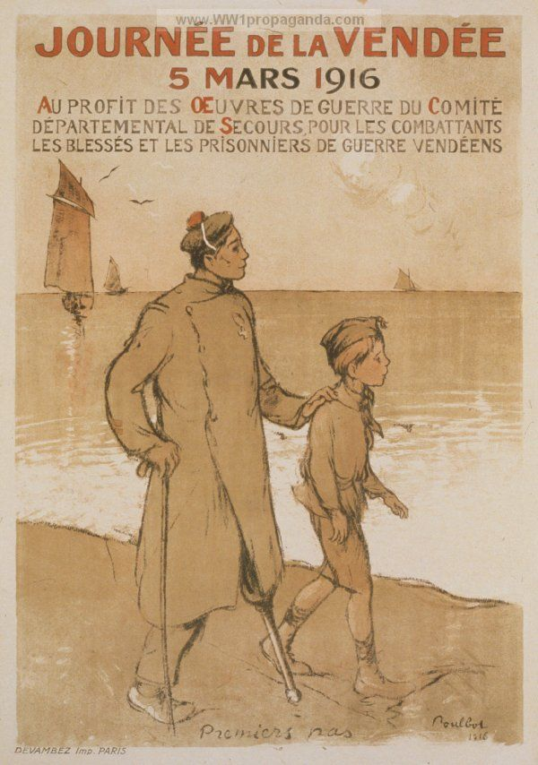 French WW1 Propaganda Poster