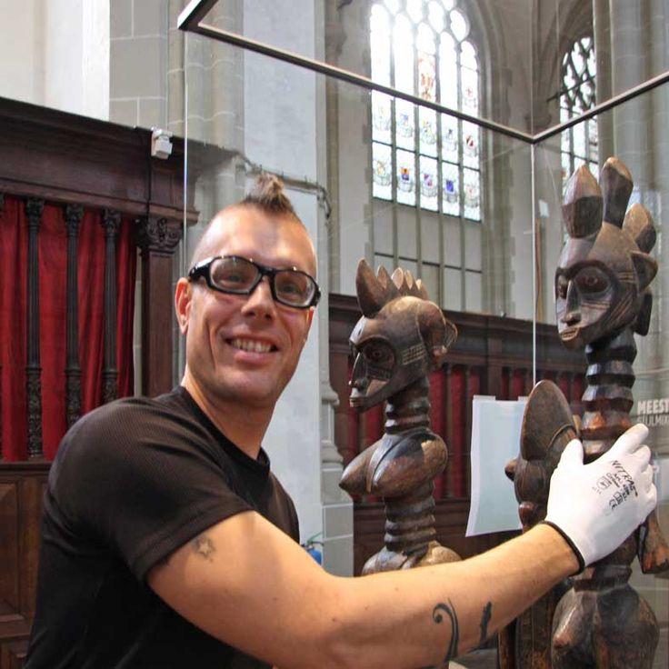 """Museuminrichting: """"Magisch Afrika"""" - Nieuwe Kerk Amsterdam"""
