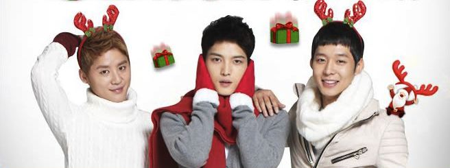 Christmas cuteness - JYJ