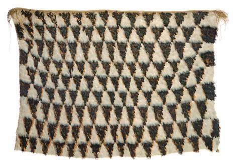 Kahu huruhuru (feather cloak), c. 1890, New Zealand. Maker unknown. Te Papa