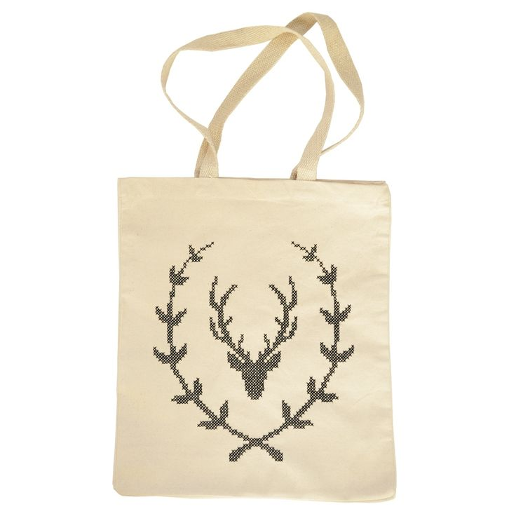 Stag Wreath Bag Kit | What Delilah Did