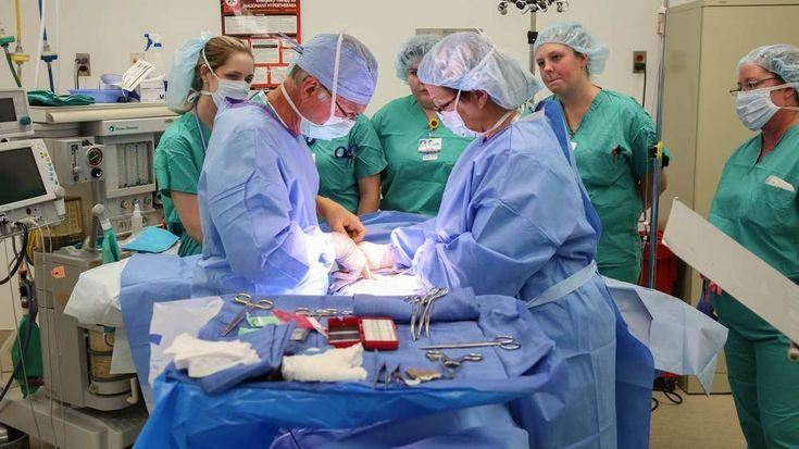 Hospitalhosted simulated surgery offers uah nursing