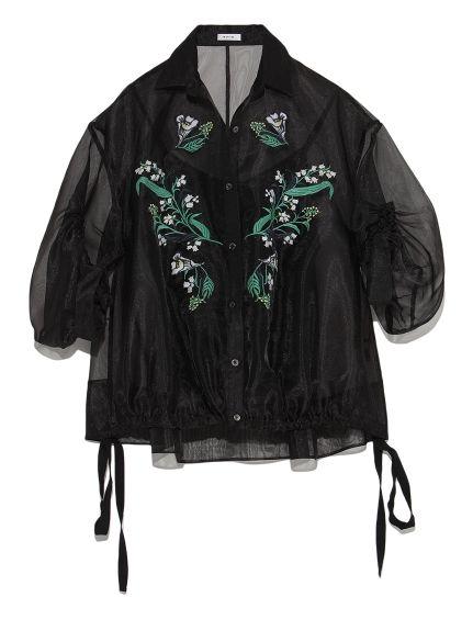 エンブロイダリードレスシャツ(シャツ) FRAY I.D(フレイアイディー) ファッション通販 ウサギオンライン公式通販サイト