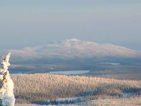 Lapland, mountain in Lapland.