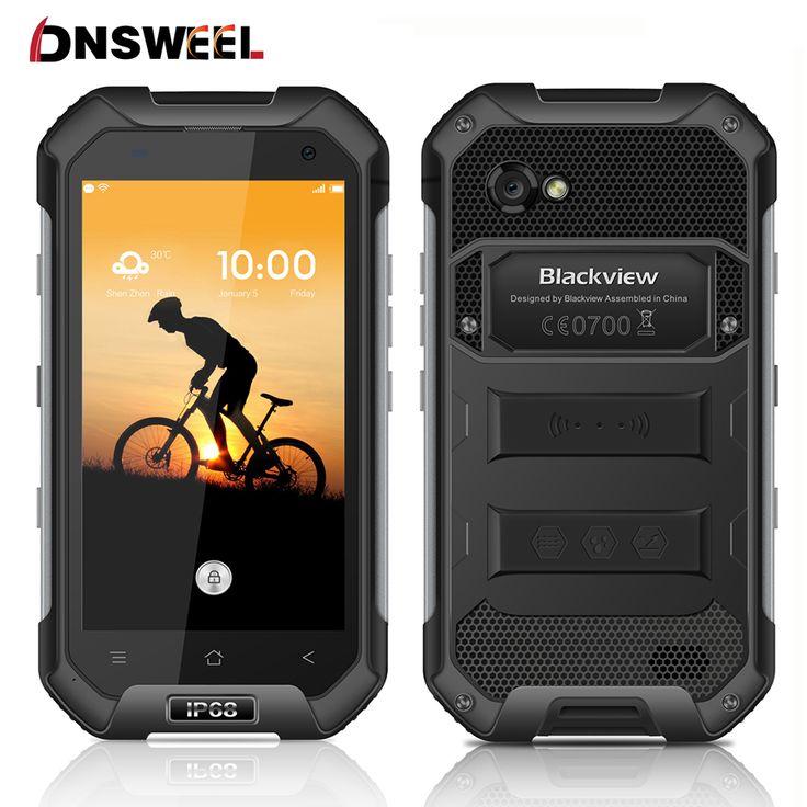 "Blackview bv6000 smartphone 4g lte ip68 a prueba de agua 4.7 ""HD MT6755 Octa Core Android 6.0 Teléfono Móvil 3 GB RAM 32 GB ROM 13MP"